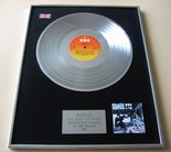 BANGLES - All Over The Place PLATINUM LP PRESENTATION Disc